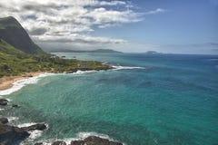 Oahu east coast Royalty Free Stock Images