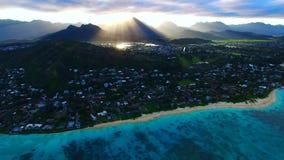 Oahu, Hawaï, de V.S. stock videobeelden