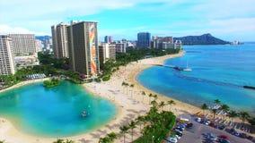 Oahu, Hawai, U.S.A. archivi video