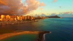 Oahu, Hawai, U.S.A. stock footage