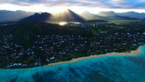 Oahu, Hawaii, USA stock video footage