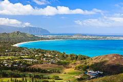 Oahu island Royalty Free Stock Photography