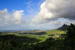 Oahu lookout Royalty Free Stock Image