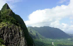 Oahu mountains Royalty Free Stock Photography