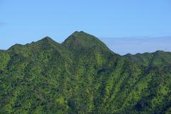 Oahu o Monte Olimpo Imagens de Stock Royalty Free