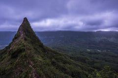 Oahu 3 picos imagenes de archivo