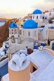 Oai santorini view Royalty Free Stock Photos