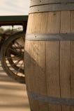 Oak Barrel Stock Image