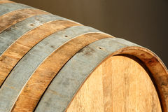 Oak barrel abstract Stock Images