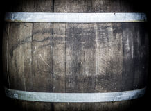 Oak barrel Royalty Free Stock Images