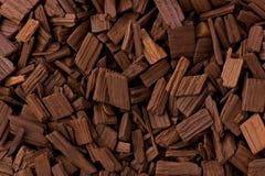 Oak Barrel Chips royalty free stock photography