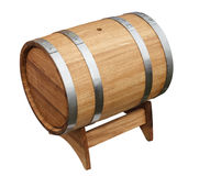 Oak barrel Stock Images