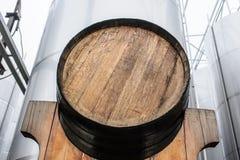 Oak barrel Royalty Free Stock Photos