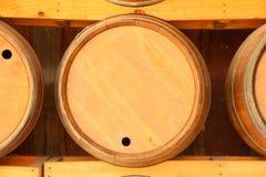 Oak barrels Royalty Free Stock Photos