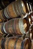 Oak barrels Royalty Free Stock Photo