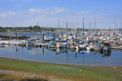 Oak Bay Marina, Canada Stock Photo