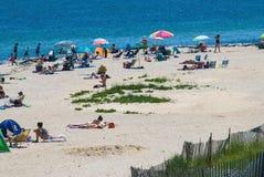Oak Bluffs Beach Day Royalty Free Stock Image