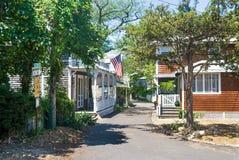 Oak Bluffs Street Royalty Free Stock Photo