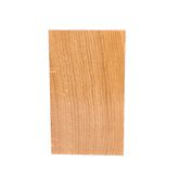 A oak board. On a white background Royalty Free Stock Photo