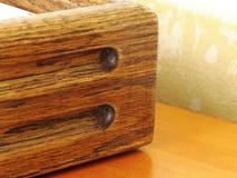 Oak Box Corner royalty free stock photography