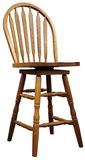 Oak Country Bar Stool Stock Image