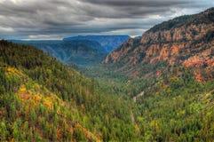 Oak Creek Canyon Royalty Free Stock Photos