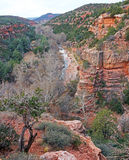 Oak Creek Canyon Stock Photography