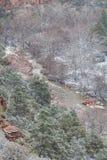 Oak Creek Canyon Sedona in Winter Royalty Free Stock Image
