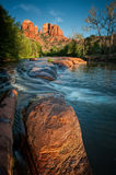 Oak Creek and Red Rocks Royalty Free Stock Photos