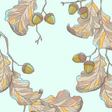 Oak decoration Royalty Free Stock Images