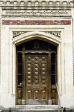 old ornate door Stock Images