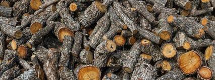 Oak Firewood Cut Stock Photos