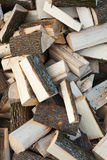 Oak firewoods texture Stock Images