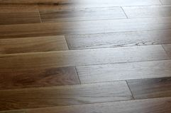 Oak floor Stock Photo