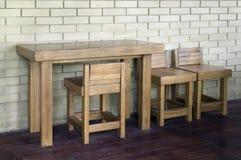 Oak furniture Stock Images