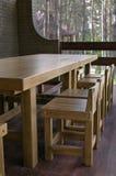 Oak furniture Royalty Free Stock Photography