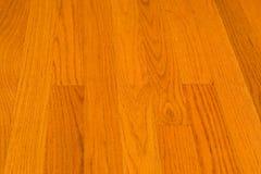 Oak Hardwood Floor. With grain running vertically Stock Photo