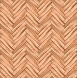Oak Herringbone Parquet Wooden Vector Seamless Pattern. Stock Photo