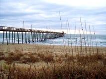 Oak Island Fishing Pier Stock Images