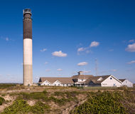 Oak Island Light House Royalty Free Stock Images