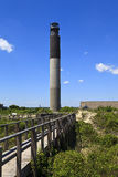 Oak Island Lighthouse Royalty Free Stock Photo