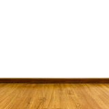 Oak laminate parquet floor Stock Image