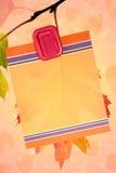 Oak Leaf Stationary Background Royalty Free Stock Photo