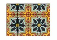 Oak leaf tile. Vector illustration of a carpet, EPS 10 file Stock Photography