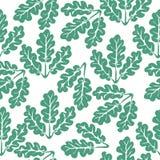 Oak leaves royalty free illustration