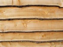 Oak Panels. Close up Detail of Oak Panels Royalty Free Stock Photography