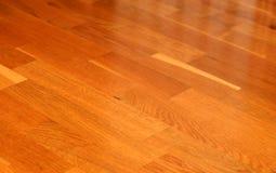 Oak parquet. Floor texture close up Stock Images