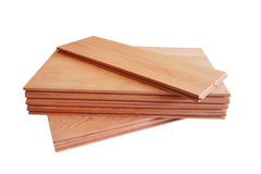 Oak parquet Stock Images