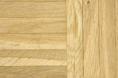 Oak parquet floor. Used oak parquet floor royalty free stock photo