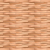 Oak Parquet Wooden Vector Seamless Pattern Background. Royalty Free Stock Image